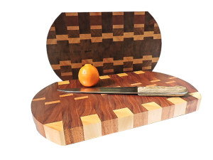 End grain cutting board-100